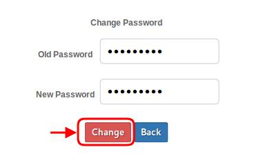 New Password Change